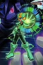 PremiumPrintsGaming - Mega Man Battle Network 1 2 3 4 5 6 Poster Megaman Rockman - YEXT822 Premium Canvas 11