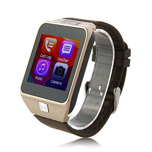 V8Smartwatch Bluetooth 4,0sincronización podómetro Monitor de sueño para Smartphone de cámara remota