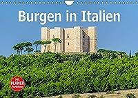 Burgen in Italien (Wandkalender 2022 DIN A4 quer): Einige der schoensten Festungen und Burgen Italiens (Geburtstagskalender, 14 Seiten )