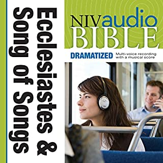 NIV Audio Bible: Ecclesiastes and Song of Songs (Dramatized) cover art