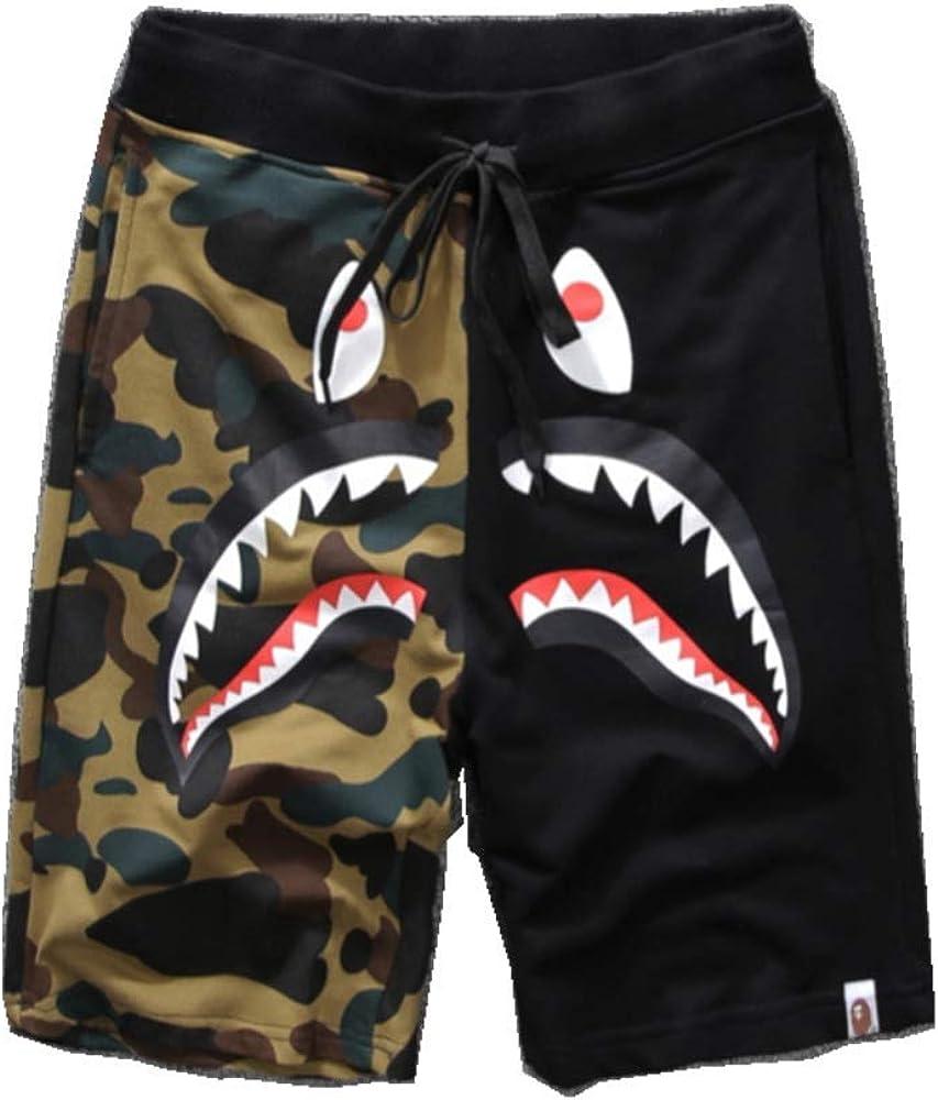 TYTO Men Shark Ape Bape Camo Mens Casual Fash Save money Sports Men's Long-awaited Pants
