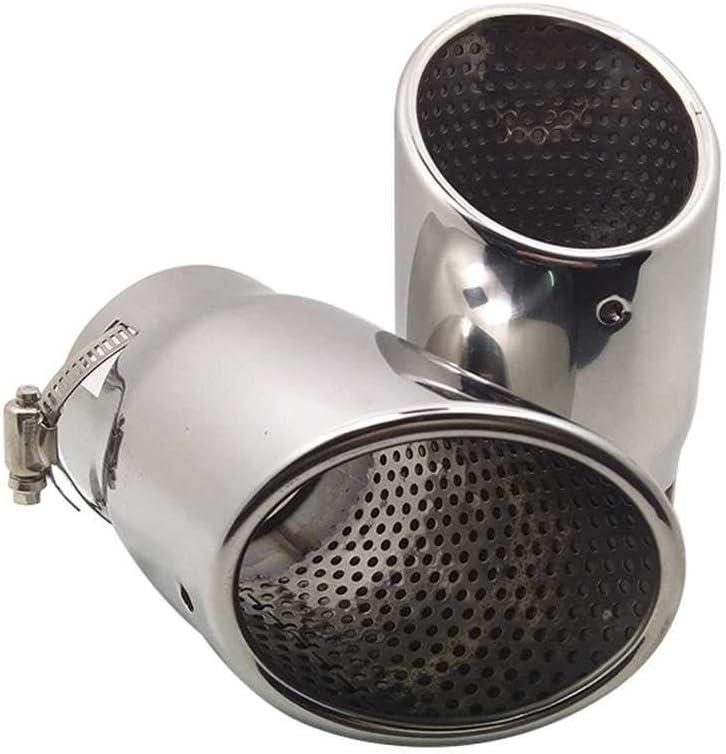 MPOQZI Auto Parts Stainless Steel Throat Muffl San Antonio Mall low-pricing Tail Exhaust Pipe