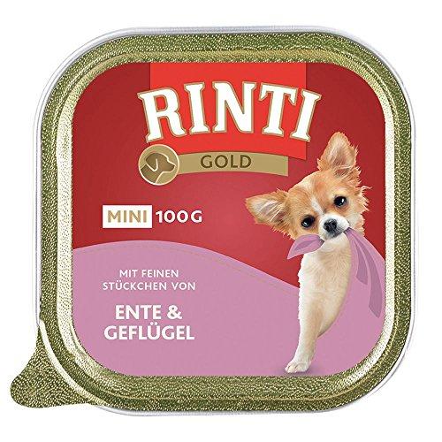 Finnern Rinti Gold mini Ente & Geflügel 100g