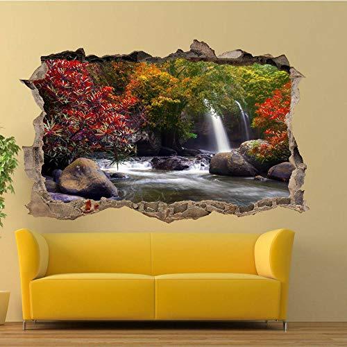 Countryside Fields Scenery Wandaufkleber 3D Art Mural Room Office Shop 70x110cm