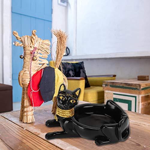 NITRIP Cenicero Creativo, artesanía de Resina, decoración de Oficina en casa, cenicero...