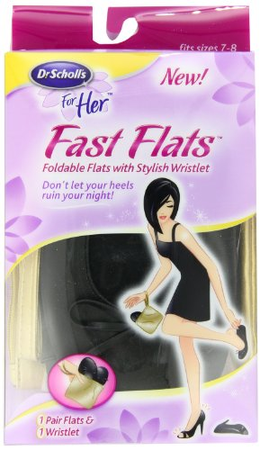 Dr. Scholl's Fast Flats, Size 7/8
