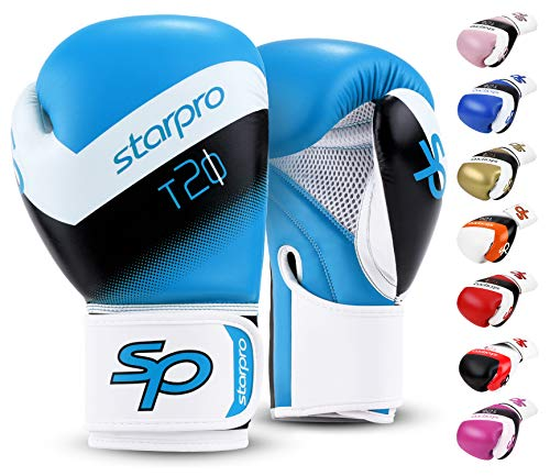 Starpro | T20 Boxhandschuhe für Harte Schläge & schnelles K.O. | Boxhandschuhe Männer, Boxhandschuhe Damen, Box Handschuh Herren Set, Boxen Sport, Box Training, Box Handschuhe, Boxing Gloves
