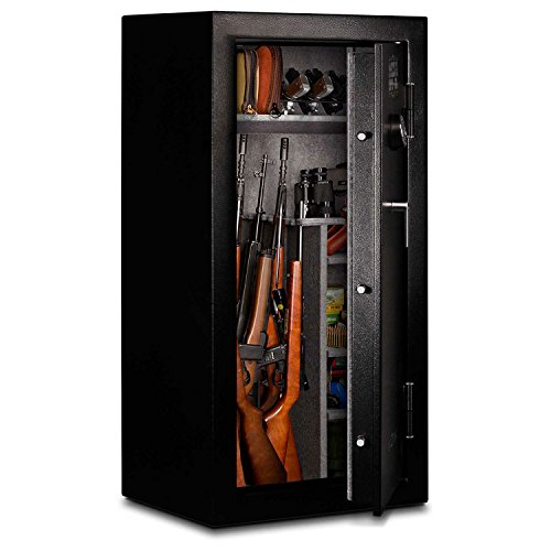 %11 OFF! Mesa Safe 24-Gun Safe Mgl24-E With Electronic Lock, 1/2 Hour Fire, 20L X 20W X 55H