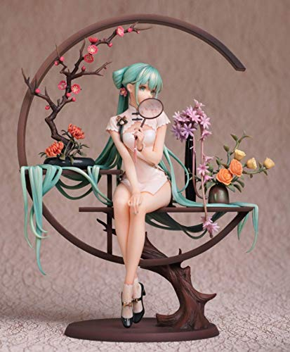 Jin Chuang Anime Vocaloid Action Figure Hatsune Miku Figure Ver.Shaohua (Myethos) 25cm 0.5KG Model Toys