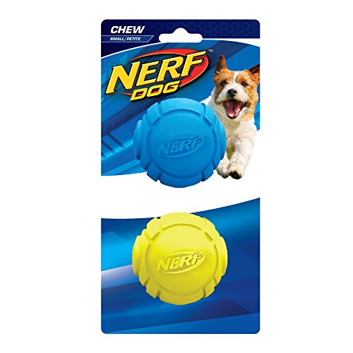 Nerf Dog Curve Ball: Ø 6,4 cm, 2er-Set
