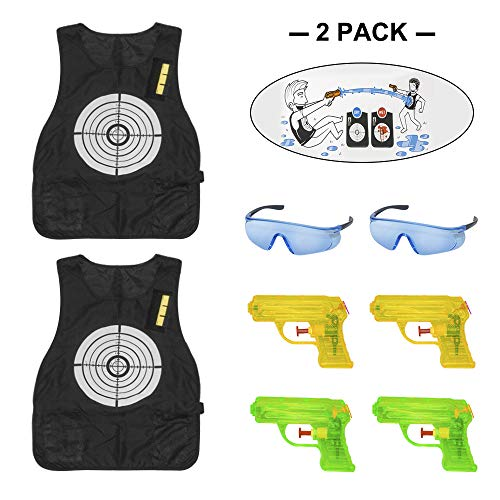 WaVes Kit Gilet tattico per Bambini,Kit Gilet tattico Elite Elite per proiettili Schiuma Nerf N-Strike Elite 46 Packs