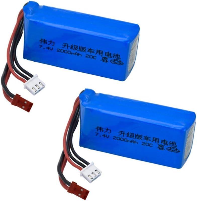 Upgrade 1 2 5pcs 7.4v NEW 2000mah Selling and selling V353 Lipo Wltoys Battery for A94