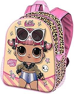 LOL Bambini Zaino Asilo Borsa L.o.l Surprise personaggio Rocker ragazza 3d