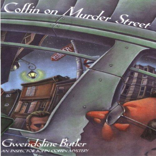 Coffin on Murder Street audiobook cover art