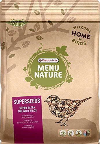 VERSELE LAGA Mélange de graines à Haute Valeur nutritive pour Oiseaux Sauvages Menu Nature Sac 1 kg