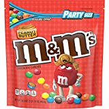 M&M'S Peanut Butter Chocolate Candy Party Size 34-Ounce Bag by AmazonUs/MARUO