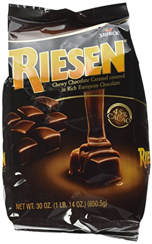 Riesen Storck Chewy Chocolate Caramels, 1.87 Pound (Pack of 1) (398052)
