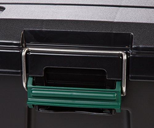 Remington 82 Quart WEATHERTIGHT Storage Box, Store-It-All Utility Tote, 4 Pack, Black 4