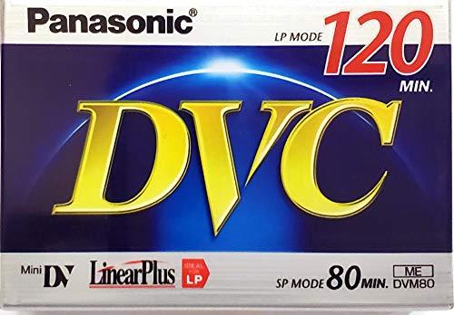 Why Choose Panasonic AY-DVM80FF MiniDV 80 Min Tape (120 Min LP)
