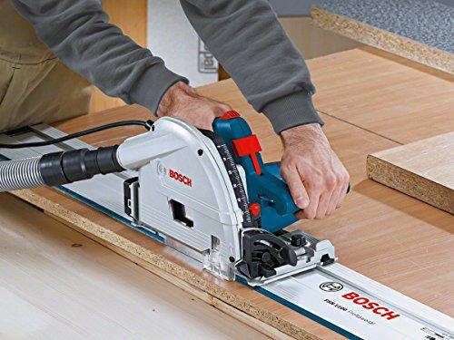 Bosch Professional Führungsschiene FSN 1100 (1,10 m Länge, Zubehör für Kreissägen von Bosch Professional, im Karton) - 2