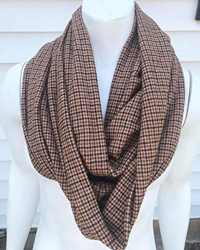 2021 autumn and winter new Brown Fall Flannel Scarf In stock