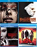 Unthinkable Horror Blu-ray 4 Pack - John Carpenter's Halloween 35th Anniversary, Fright Night 2 & Carrie (Blu-ray) Devils Rejects Rob Zombie 4-Movie Terrifying Bundle