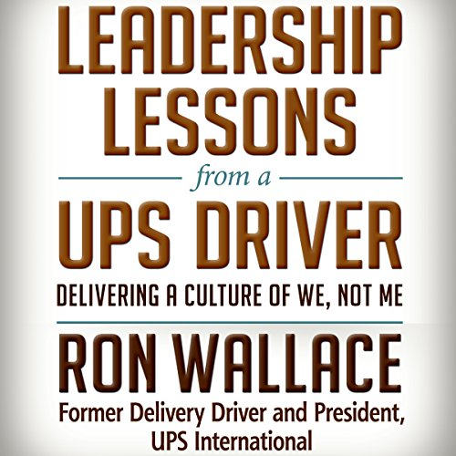 Leadership Lessons from a UPS Driver audiobook cover art