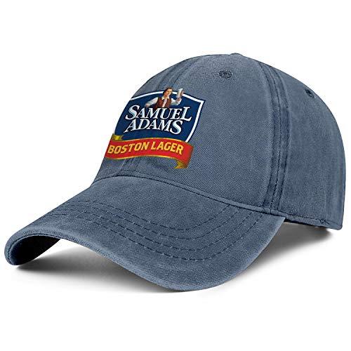 Man Woman Samuel-Adams-Boston-Lager-Sam-Adams-Beer- Hats Cool Cowboy Cap Outdoor Caps Denim