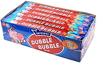 Dubble Bubble Bubble Gum Big Bar - 24 / Box