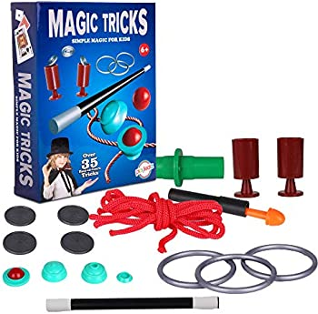 Playkidz Magic Trick for Kids Set 2 with Wand & More Magic Tricks