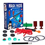 Playkidz Magic Trick for Kids Set 2- Magic Set with Over 35 Tricks Made Simple, Magician Pretend Play Set with Wand & More Magic Tricks - Easy to Learn Instruction Manual - Best Gift for Beginners