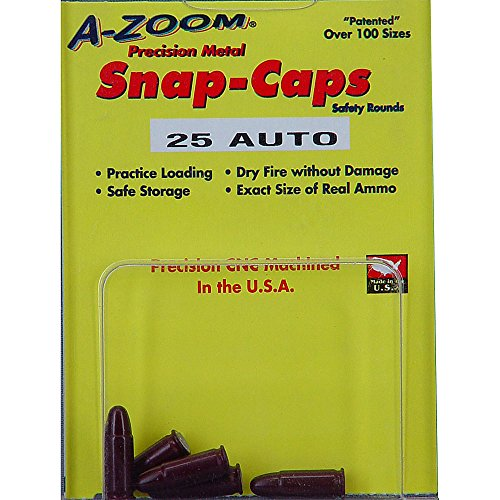A-Zoom 5-Pack Precision Snap Caps fits 25 Auto