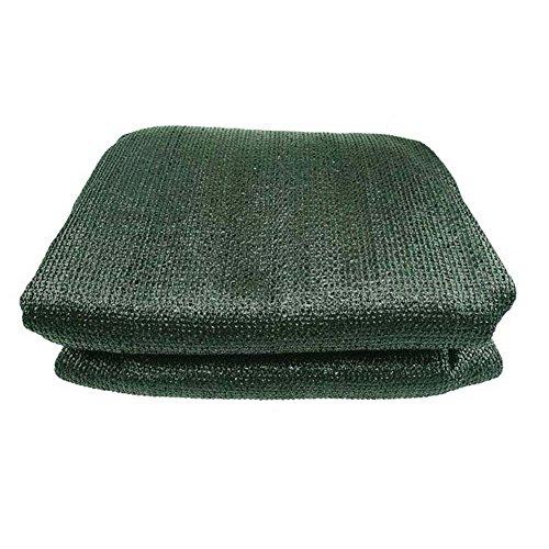 Zaixi Cryptage de bordure à 6 broches blackout/filet de séchage filet d'ombre charnue/vert foncé Grande dimension (taille : 2x3m)