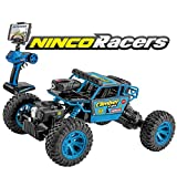 Ninco Racers Climber CAM Coche teledirigido con cámara incorporada, retransmite en Directo, Apto para Android y iOS, tracción Total, 2,4 GHz (NH93110).