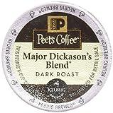 32 Count - Peet's Coffee Major Dickason Blend Single Cup Coffee for Keurig K-Cup Brewers (Packaging May Vary)