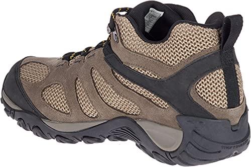 Merrell Men's Yokota 2 MID Waterproof Hiking Boot, Boulder, 10.5 W US