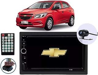 Multimídia Chevrolet Onix 2012 2013 2014 2015 2016 2017 2018 2019 Espelhamento Andoid Ios Bluetooth Rádio + Câmera De Ré