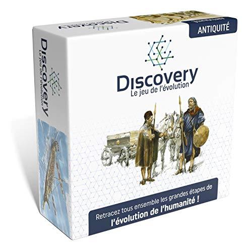 Discovery : le jeu de l'évolution - Antiquité - Un Jeu de Cartes passionnant pour Les Enfants et Les Adultes - HASB2.03fr