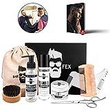 Kit del año cuidado de la barba 2020  Cosméticos de excelente calidad hechos en Alemania  Set de regalo para hombres  Kit de afeitado de BarFex