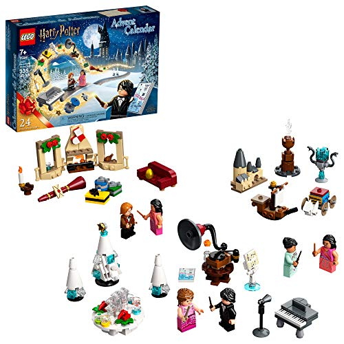 LEGO Harry Potter Advent Calendar 75981, Collectible Toys from The Hogwarts Yule Ball, Harry Potter and The Goblet of Fire and More, Great Christmas or Birthday Calendar Gift, New 2020 (335 Pieces)