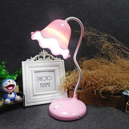 Flower touch LED lampe de table USB lampe de nuit à économie d'énergie permettant de charger la lampe de lecture/écriture