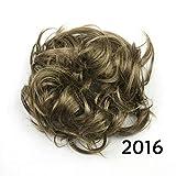 30 colores de alta temperatura de fibra de pelo bollo de pelo sintético diadema de pelo pelo dona rodillo Hairband Scrunchie