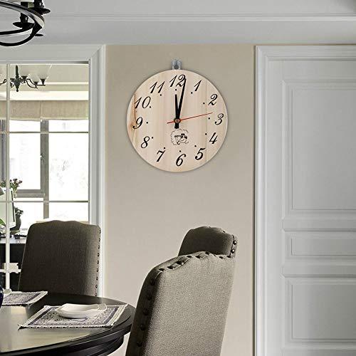 XINL Sauna Raumuhr Sauna Timer Sauna Uhr Sauna Timer Uhr Dekorative Timer Uhr Ungiftiges Wohnzimmer für Bad
