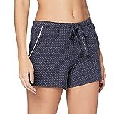 Marc O'Polo Body & Beach Mix W-Shorts Pantalón de Pijama, Grafito, M para Mujer