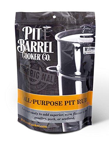 Pit Barrel Cooker PRO250AP Purpose Pit Rub 2.5 lb. Bag, One Size