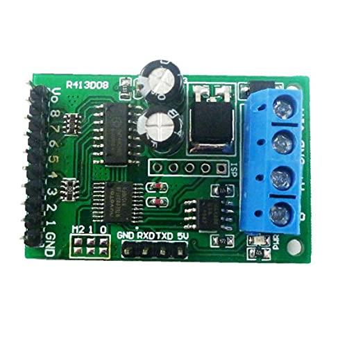 BRAVOSOLEIL Relaismodul 8-kanal-relais-steuermodul Vorstand Modbus Rs485 Ttl Rtu Dc5v Relay-switch Controller Board