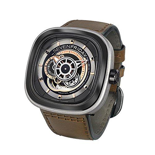 Sevenfriday P2B/01 Industrial Revolution-Armbanduhr.