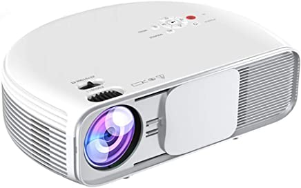 """$156 Get Video Projector, iBosi Cheng Home Theater Projector LCD Portable Projector 1080P Full HD Projector with 3600 Lux, 208"""" Large Screen, Support with HDMI USB VGA Ports for TV Box Laptop Smartphones"""