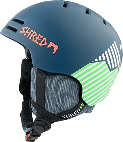 Shred Herren Helm Slam-Cap Needmoresnow, Navy Blue/Green, S