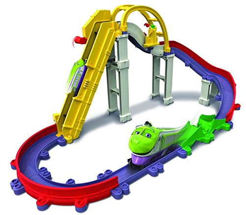 Tomy Chuggington - LC54240 - Circuit de Trains Miniatures et Rails - Dépôt Central